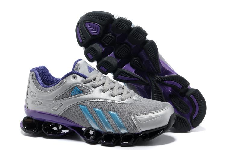e77cec8ed Adidas Bounce Titan 6th VI Sixth Netty Women Gray Purple Best Quality  Women s Outlet Plush Sensory
