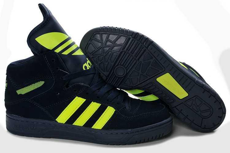 b5eb82a120ab Adidas Jeremy Scott Abrasion Resistant Plush Sensory Experience Limit Offer  Metro Attitude Hi Navy Green Shoes