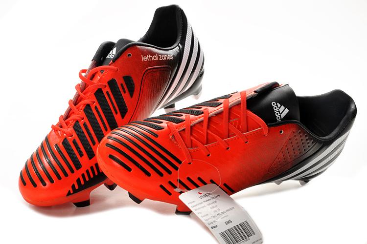 2c9402ef5597 Adidas Predator Low Price USA Sale 2012 Newest LZ DB InfraredWhiteBlack For  Travelling High Taste